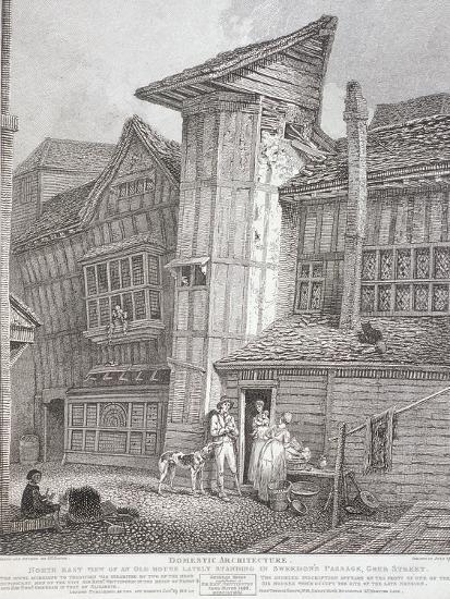 Milton Street, London, 1791-John Thomas Smith-Giclee Print