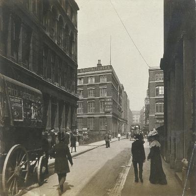 Milton Street, London, C1920--Photographic Print