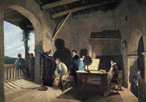 Milton Visiting Galileo