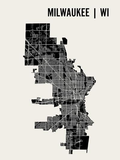 Milwaukee-Mr City Printing-Art Print