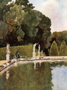 The Fountain of Diana, Versailles by Mima Nixon