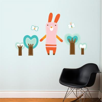 Mimi the Bunny Wall Decal--Wall Decal