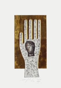 Sans Titre (Main) by Mimmo Paladino