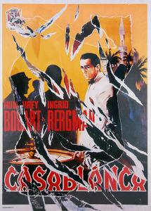 Casablanca 1 by Mimmo Rotella