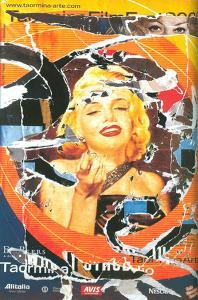 Omaggio a Marilyn (A Tribute to Marilyn) #2 by Mimmo Rotella
