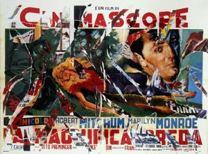 The Beautiful Prey by Mimmo Rotella