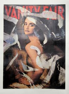 Vanity Fair (Penelope Cruz) by Mimmo Rotella