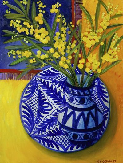 Mimosas, Series I-Isy Ochoa-Giclee Print