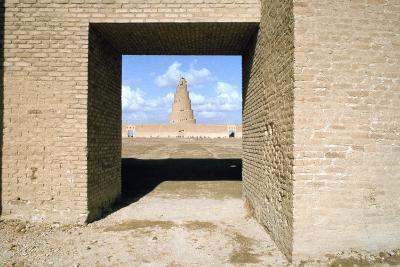 Minaret from Within the Friday Mosque, Samarra, Iraq, 1977-Vivienne Sharp-Photographic Print