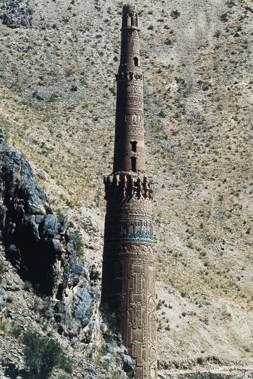 Minaret of Jam, 12th Century (Unesco World Heritage List, 2002), Ghowr Province, Afghanistan--Photographic Print