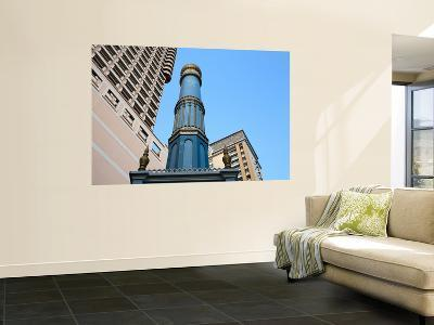 Minaret of Saigon Mosque in Front of High-Rise Buildings-Antony Giblin-Wall Mural