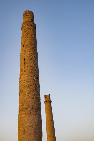 Minarets in Herat, Afghanistan, Asia-Alex Treadway-Photographic Print