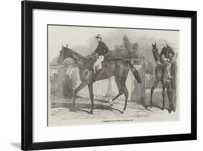 Mincemeat, the Winner of the Oaks, 1854--Framed Giclee Print