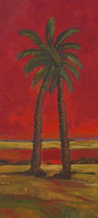 Crimson Palm I