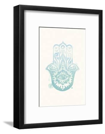 Mindfulness - Hamsa-Sasha Blake-Framed Art Print