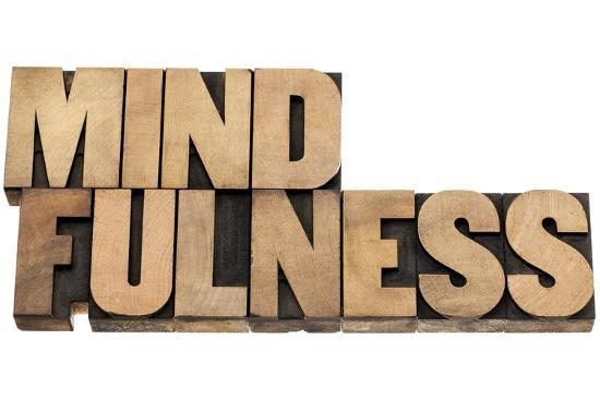 Mindfulness-PixelsAway-Art Print