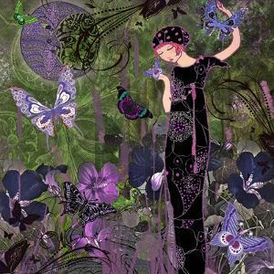 Butterfly Forest by Mindy Sommers