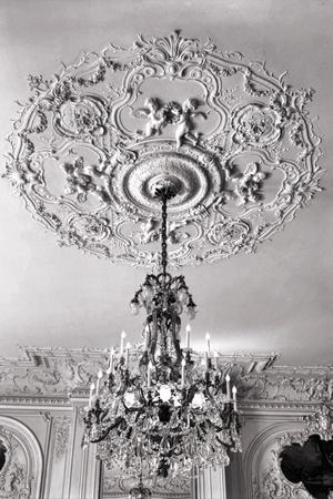 Ornate Ceiling Engraving