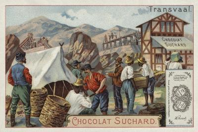 Mine, Transvaal--Giclee Print