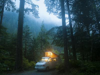 Mineral Park Campground, Mount Baker-Snoqualmie National Forest, Washington-Ethan Welty-Photographic Print