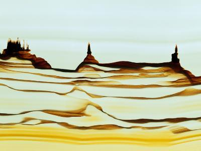 Mineral Precipitates In Agate-Dirk Wiersma-Photographic Print