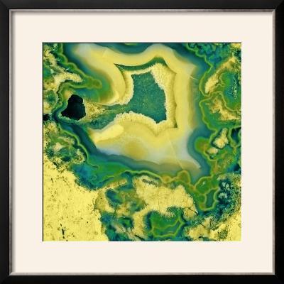 Mineral Rings Geode-GI ArtLab-Framed Photographic Print