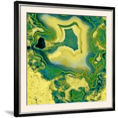 Mineral Rings Geode-GI ArtLab-Framed Photographic Print