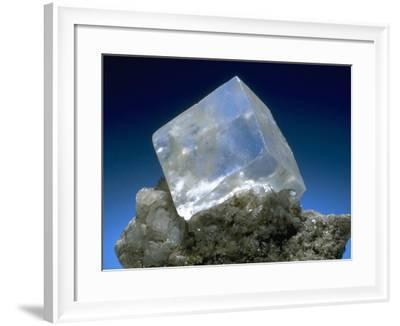 MineralCalendar: Halite. Eisleben, Germany--Framed Photographic Print
