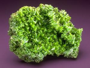 MineralCalendar: Pyromorphite. Ussel, France