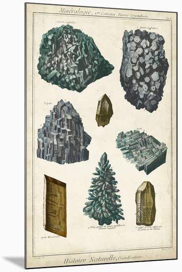 Mineralogie II-Vision Studio-Mounted Giclee Print