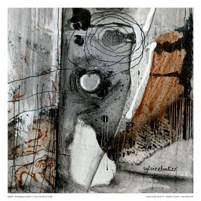 Minéralogique (Détail 1)-Sylvie Cloutier-Art Print