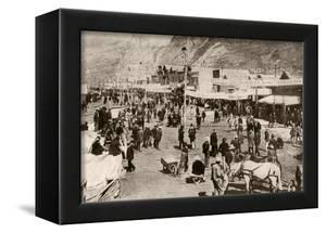 Miners and New Settlers Crowding Dawson City During the Klondyke Gold Rush, 1900