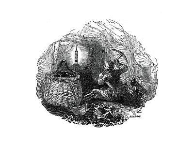 Miners' Safety Lamp, 1833-Jackson-Giclee Print