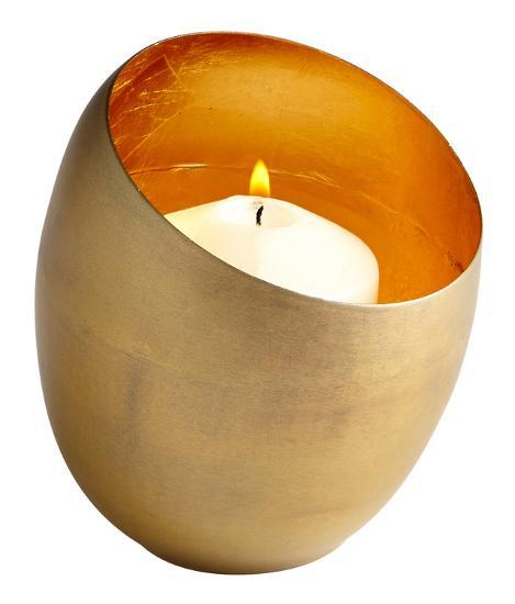 Minerva Brass Candleholder - Small--Home Accessories