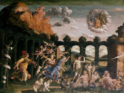 Minerva Chasing the Vices from the Garden of Virtue, C1502-Andrea Mantegna-Giclee Print
