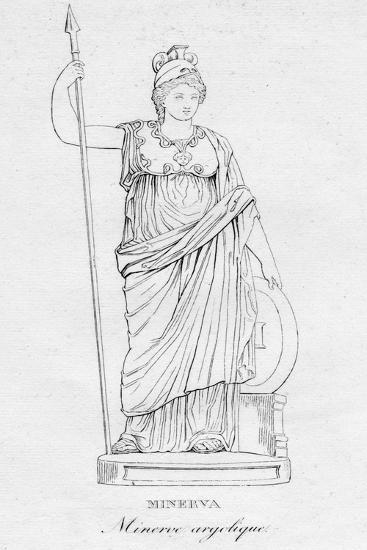 'Minerva (Minerve argolique)', c1850-Unknown-Giclee Print