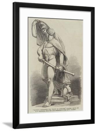 Minerva Repressing the Wrath of Achilles, Plaster Group, by H F Leifchild--Framed Giclee Print
