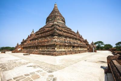 Mingalazedi Pagoda, a Buddhist Stupa Located in Bagan (Pagan), Myanmar (Burma), Asia-Thomas L-Photographic Print