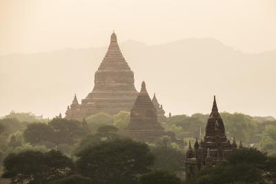 Mingalazedi Pagoda at the Temples of Bagan (Pagan) at Sunset, Myanmar (Burma), Asia-Matthew Williams-Ellis-Photographic Print