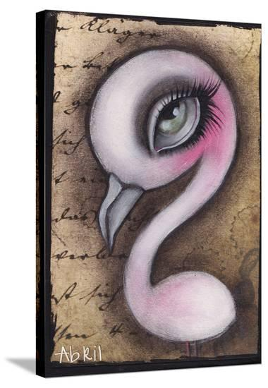 Mingo-Abril Andrade-Stretched Canvas Print