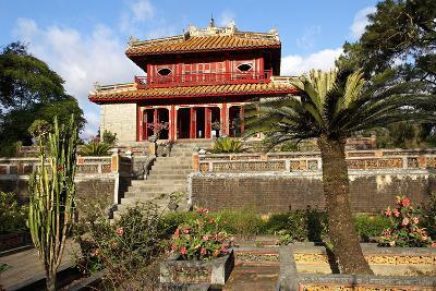 Minh Mang Tomb, UNESCO World Heritage Site, Hue, Vietnam, Indochina, Southeast Asia, Asia-Bruno Morandi-Photographic Print