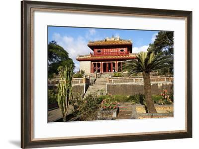 Minh Mang Tomb, UNESCO World Heritage Site, Hue, Vietnam, Indochina, Southeast Asia, Asia-Bruno Morandi-Framed Photographic Print