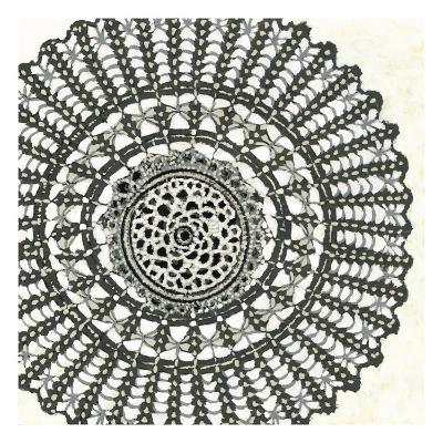 Mini Abstract Rosette II-Chariklia Zarris-Art Print