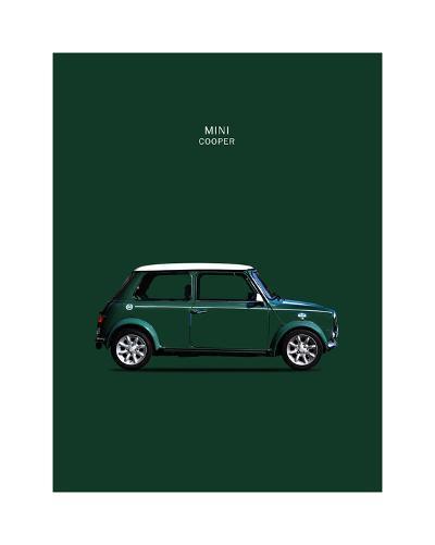 Mini Cooper 1999-Mark Rogan-Giclee Print