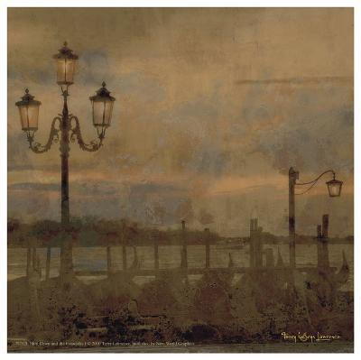 Mini Dawn and the Gondolas I-Terry Lawrence-Art Print