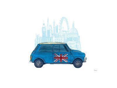 Mini London-Barry Goodman-Giclee Print