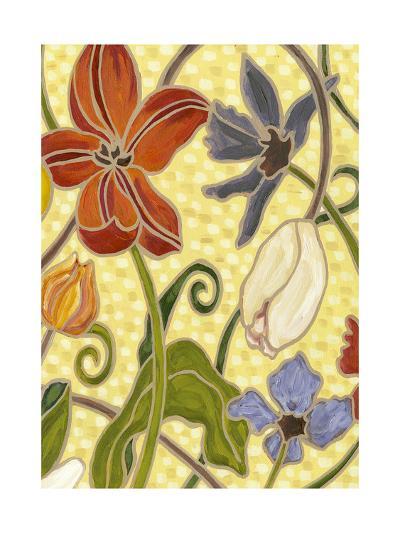 Mini Sunny Garden I (2-Up)-Karen Deans-Art Print
