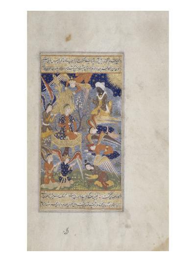 Miniature : Adam entouré d'anges--Giclee Print