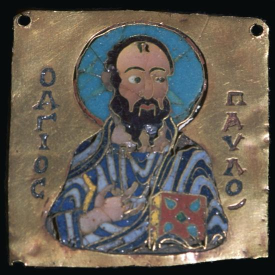 Miniature depiction of St Paul, 10th century-Unknown-Giclee Print