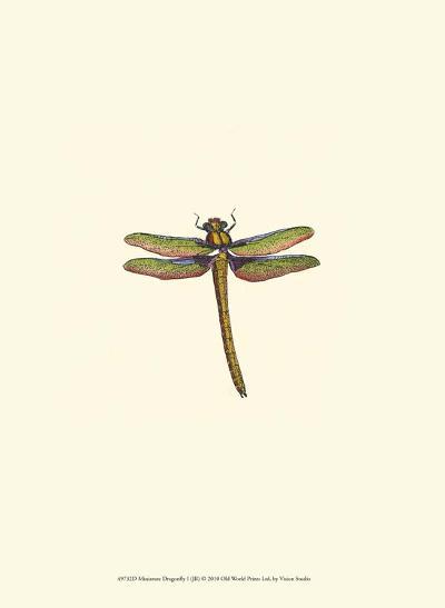 Miniature Dragonfly I--Art Print